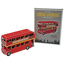 Buy Rex London Landmarks Make Your Own Bus Online at johnlewis.com