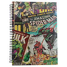 Buy Marvel Superhero A5 Notebook, Multi Online at johnlewis.com