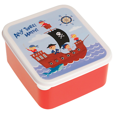 Rex Pirate Lunch Box, Red
