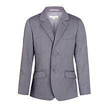 Buy John Lewis Heirloom Collection Boys' Pinspot Formal Jacket, Grey Online at johnlewis.com