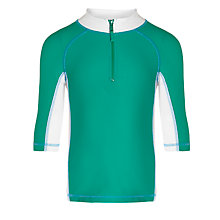 Buy John Lewis Boy Panelled Rash Vest Online at johnlewis.com