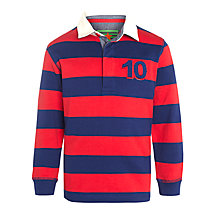 Buy John Lewis Boy Bold Stripe Rugby Shirt Online at johnlewis.com