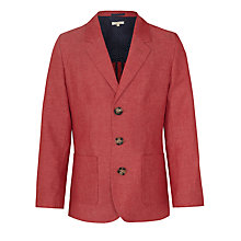 Buy John Lewis Heirloom Collection Boys' Linen-Blend Jacket Online at johnlewis.com