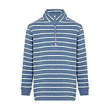 Buy John Lewis Boy Brush Back Stripe Jumper Online at johnlewis.com