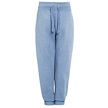 Buy John Lewis Boy Brush Back Joggers, Light Blue Online at johnlewis.com