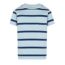 Buy John Lewis Boy Crew Neck Stripe T-Shirt Online at johnlewis.com