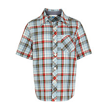 Buy John Lewis Boy Short Sleeve Bold Check Shirt Online at johnlewis.com