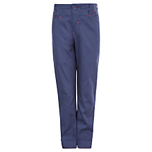 Buy Kin by John Lewis Boys' Slim Fit Chino Trousers, Blue Online at johnlewis.com