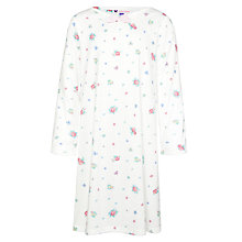Buy John Lewis Girl Vintage Floral Nightdress, Cream/Multi Online at johnlewis.com