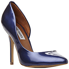 Buy Steve Madden Gayyle Asymmetric High Heeled Courts Online at johnlewis.com