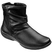 Buy Hotter Made in England EE Extra Wide Whisper Leather Ankle Boots Online at johnlewis.com