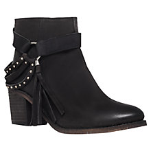 Buy Miss KG Skittle Leather Ankle Boots, Black Online at johnlewis.com