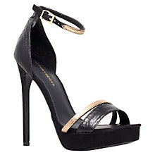 Buy KG by Kurt Geiger Ocassion Sandals, Black Online at johnlewis.com
