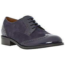 Buy Dune Leslee D Lace Up Suede Brogues Online at johnlewis.com