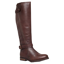 Buy Miss KG Winner Leather Buckle Trim Knee High Boots Online at johnlewis.com