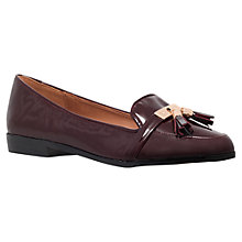 Buy Miss KG Nadie Patent Loafers, Burgundy Online at johnlewis.com