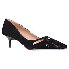 Buy Kurt Geiger Cassidy Mid Heel Court Shoes Online at johnlewis.com
