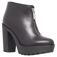 Buy KG by Kurt Geiger Leather Storm Ankle Boots, Black Online at johnlewis.com