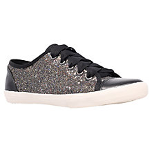 Buy KG by Kurt Geiger Lucca Plimsolls,  Metal Comb Online at johnlewis.com