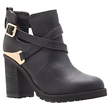 Buy Miss KG Bonjour High Heel Ankle Boots, Black Online at johnlewis.com