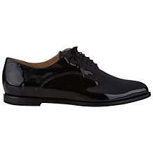 Buy Hobbs Astrid Derby Lace Up Shoes, Black Online at johnlewis.com