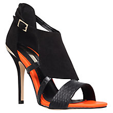 Buy Miss KG Honest Suedette Sandal, Black Online at johnlewis.com