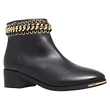 Buy KG by Kurt Geiger Speed Chain Detail Trim Ankle Boots Online at johnlewis.com