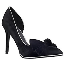 Buy KG by Kurt Geiger Bubble Velvet High Heel Court Shoes Online at johnlewis.com