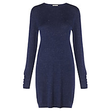 Buy Whistles Annie Sparkle Knit Dress, Navy Online at johnlewis.com