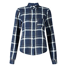 Buy Jigsaw Cropped Check Shirt Online at johnlewis.com