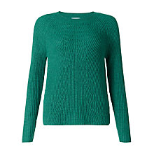 Buy Jigsaw Engineered Ribbed Jumper Online at johnlewis.com