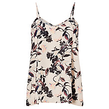 Buy Oasis Trailing Floral Cami Top, Off-White Online at johnlewis.com