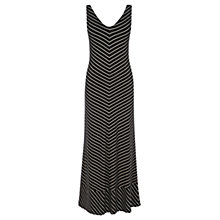 Buy Wishbone Venetia Stripe Maxi Dress, Black Online at johnlewis.com