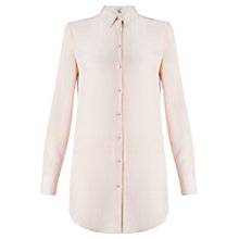 Buy Jigsaw Long Silk Shirt Online at johnlewis.com