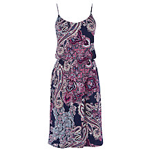 Buy Oasis Paisley Print Cami Midi Dress, Multi Online at johnlewis.com