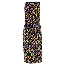 Buy Oasis Ditsy Pop Print Midi Dress, Multi Online at johnlewis.com