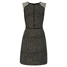 Buy Oasis Emily Dress, Black/Multi Online at johnlewis.com