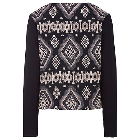 Buy Sugarhill Boutique Fifi Jacket, Black Multi Online at johnlewis.com