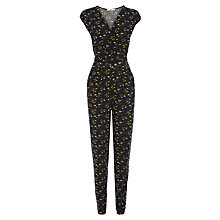 Buy Oasis Clusterfield Floral Jumpsuit, Multi Online at johnlewis.com