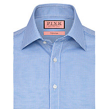 Buy Thomas Pink Zetland Dots Shirt, Blue/White Online at johnlewis.com