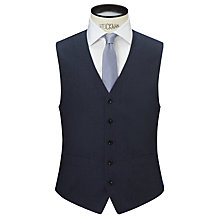 Buy Chester by Chester Barrie Wool Flannel Waistcoat, Airforce Online at johnlewis.com