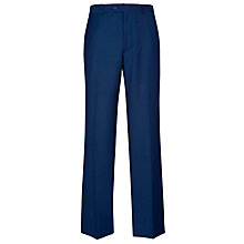 Buy Daniel Hechter Contrast Twill Tailored Suit Trousers, Blue Online at johnlewis.com