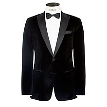 Buy BOSS Heyford Dinner Jacket, Black Online at johnlewis.com