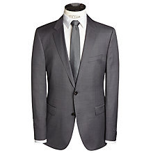 Buy BOSS The Rider Pindot Suit Jacket, Charcoal Online at johnlewis.com