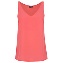 Buy Warehouse Satin Front Vest, Bright Pink Online at johnlewis.com