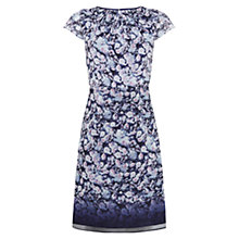 Buy Kaliko Ombre Floral Dress, Blue Online at johnlewis.com