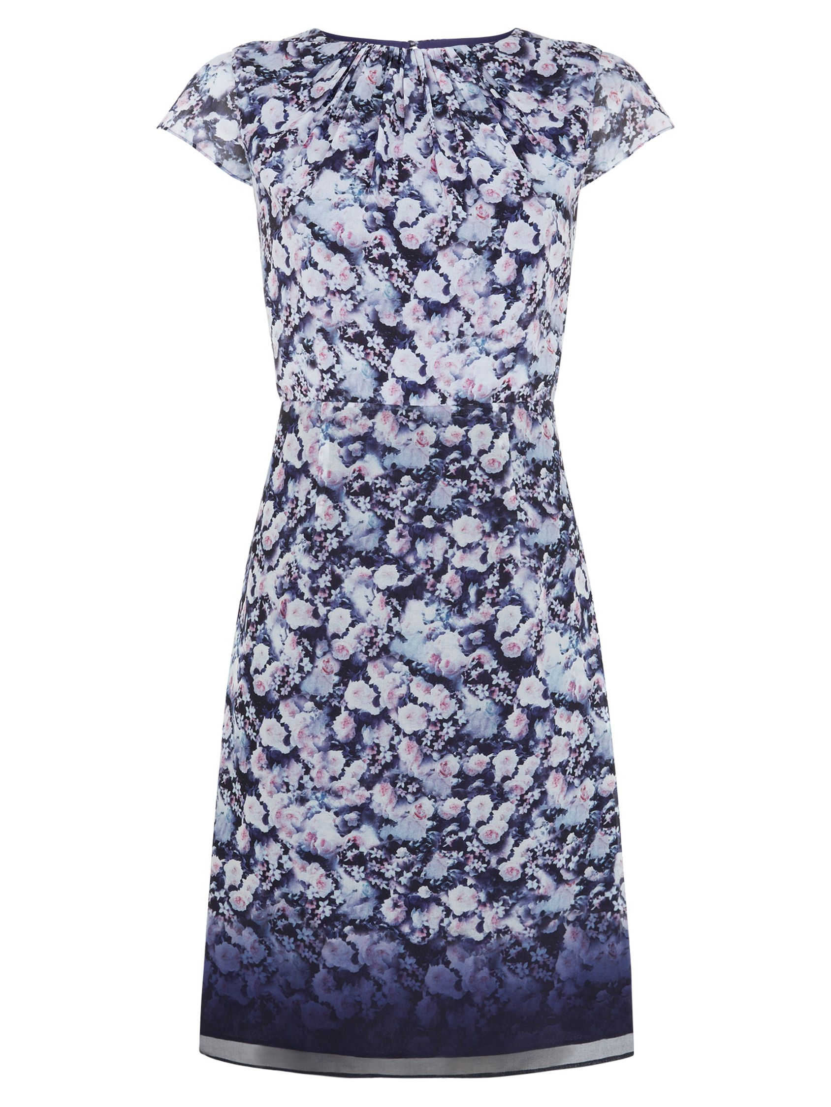 kaliko ombre floral dress blue, kaliko, ombre, floral, dress, blue, 14|16, clearance, womenswear offers, womens dresses offers, special offers, 20% off selected kaliko, women, plus size, womens dresses, 1609554