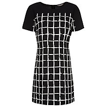 Buy Planet Check Tunic, Black/Ivory Online at johnlewis.com