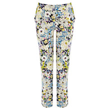 Buy Warehouse Pretty Floral Trousers, Multi Online at johnlewis.com