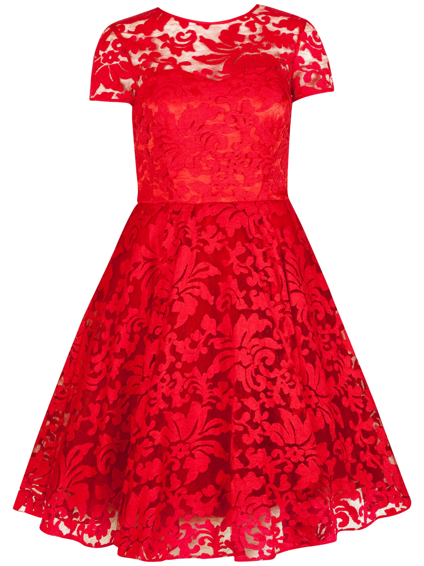 ted baker sheer floral overlay dress red, ted, baker, sheer, floral, overlay, dress, red, ted baker, 4|2|3|0|1, women, valentines fashion edit, womens dresses, gifts, wedding, wedding clothing, female guests, adult bridesmaids, valentines day, red dress, fashion magazine, womenswear, men, brands l-z, 1607494